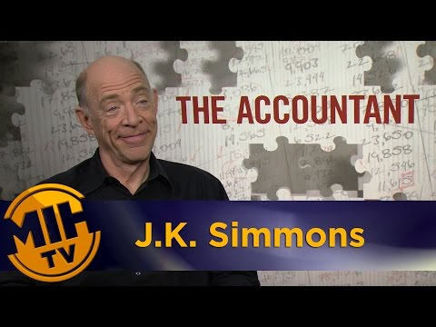"J.K. Simmons Extended Interview – ""The Accountant"" Movie"