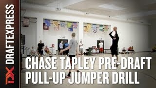 Chase Tapley - 2013 NBA Pre-Draft Workout - Pull-Up Jumper Drill