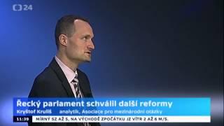 Řecký parlament hlasoval o druhém balíku reforem