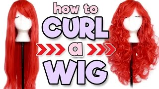 "Hi my fellow wiggieheads! This video has been super highly requested since my ""How to Straighten a Wig"" video, so in today's wig tutorial, I'll be showing you how to curl a wig! It may surprise you how much it's just like curling your natural hair. You can curl a wig with heat or without heat depending on your wig's needs, and this tutorial will show ya how to do both! Links and discount codes below!Check out the other videos in this series!How to Wear a Wig: https://youtu.be/LWm5xyyl-3QHow to Brush a Wig: https://youtu.be/XXjBStK2kLIHow to Store a Wig: https://youtu.be/l32BuM5n6nMHow to Wash a Wig: https://youtu.be/1wLBeQTJdA4How to Straighten a Wig: https://youtu.be/e3785bxXflQHow to: Lace Front Wigs: https://youtu.be/GW2a4LV172oHow to Dye a Wig: https://youtu.be/ZvuLYTi3pegWIGS:DISCOUNT CODE ""ALEXA10"" FOR 10% OFF!RockStar Wigs Bella in Red: http://bit.ly/2i3ReC0DISCOUNT CODE ""ALEXA10"" FOR 10% OFF!My Social Media:2nd Channel: http://bit.ly/2i3L30YInstagram: http://bit.ly/1oJbwMLTwitter: http://bit.ly/SvyfzkSnapchat: alexapolettiFacebook: http://on.fb.me/1qosyizTumblr: http://bit.ly/1mdvoaDYouNow: http://bit.ly/2fYefp2Music: Thingamajig by Audionautix is licensed under a Creative Commons Attribution license (https://creativecommons.org/licenses/...)Artist: http://audionautix.com/"