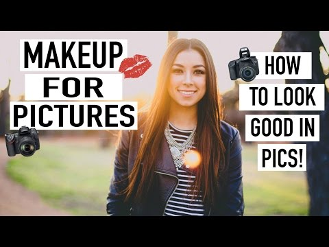 Makeup For Pictures – How To Look Good in Pictures!