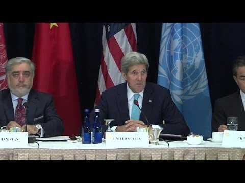 Secretary Kerry's Remarks at High-Level Event on Afghanistan
