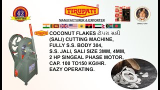 COCONUT CHIPS CUTTING MACHINE/COCONUT CHIPS/COCONUT CUTTING MACHINE