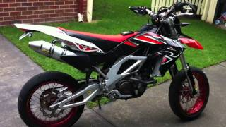 6. My 2008 Aprilia RXV 550 With Motard and full Arrow System Derestricted.