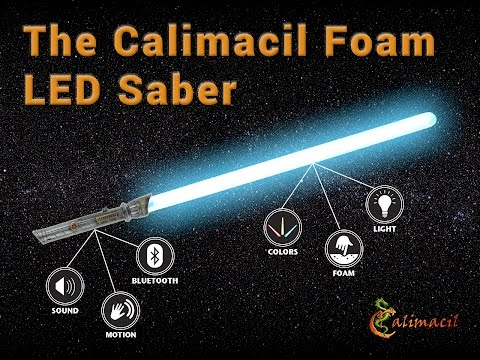 LEDsaber A HighTech Glowing Foam Lightsaber