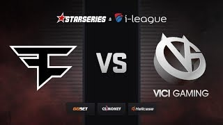 [RU] FaZe vs ViCi | Map 2 – Overpass | StarSeries i-League Season 7
