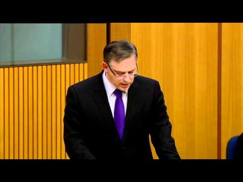 Grievance Debate Speech - Youth Suicide - 18 June 2012