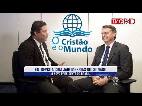 Entrevista com o novo presidente Jair Bolsonaro -