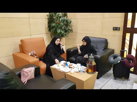 Business class lounge in qassim railway station