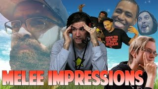 Melee Personalities Do Impressions of Other Melee Personalities (Part 2)