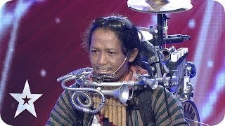 Video One Man Band by Yon Gondrong - AUDITION 4 - Indonesia's Got Talent [HD] MP3, 3GP, MP4, WEBM, AVI, FLV September 2018