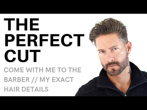Mens hairstyles - WHAT TO TELL YOUR BARBER : My Exact Haircut Details – Classic Men's Hairstyle