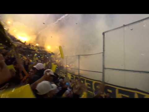 Video - Rosario Central - Los Guerreros - Recibimiento vs boca - Sudamericana 2014 - Los Guerreros - Rosario Central - Argentina