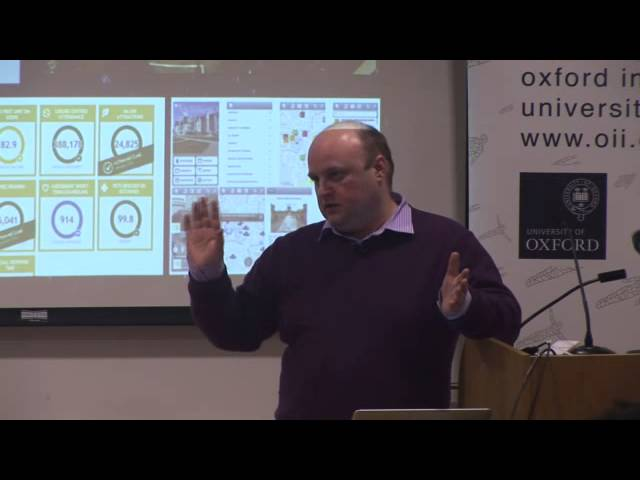 The Real-Time City? Big Data and Smart Urbanism (OII Bellwether Lectures)