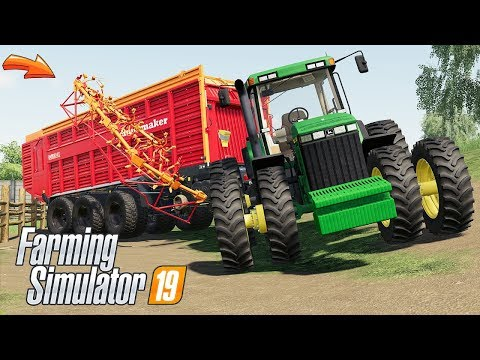Rapide 8400 Windrower & Loading Wagon v1.1