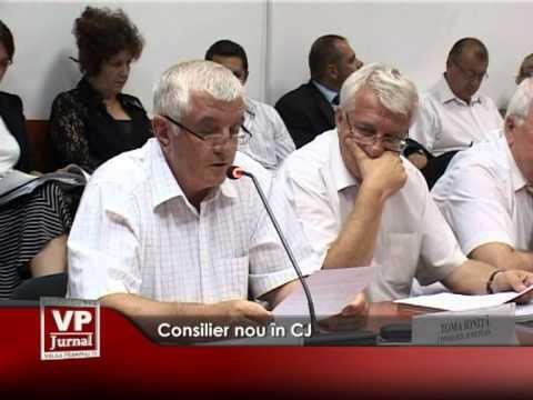 Consilier nou în CJ