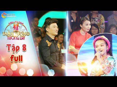 Thần tượng tương lai | tập 8 full HD: Giọng hát của Quỳnh Như khiến Quang Linh, Cẩm Ly ngỡ ngàng