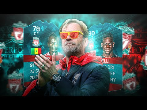 LIVERPOOL SADIO MANE SUPER MARIO BALOTELLI ULTIMATE LIVERPOOL TRANSFER SQUAD! FIFA 16 ULTIMATE TEAM