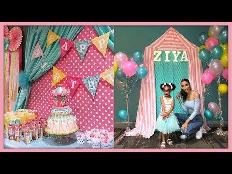 DIY Carnival Birthday Party Decor | 3rd Birthday!