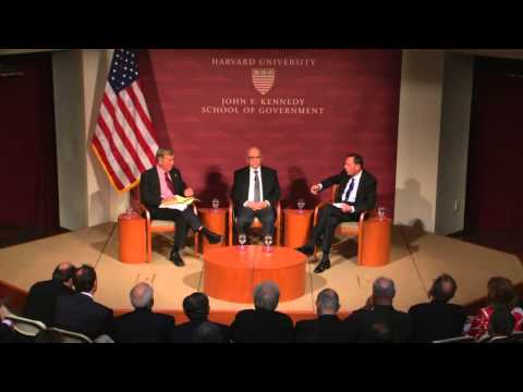 Iran - Former Director of the Mossad, Meir Dagan, Former Director of the CIA David Petraeus, and current Belfer Center Director Graham Allison discussed the possibi...