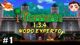 Terraria T5 Ep. 1  �ESO ES NUEVO Versión 1.3.4 con Kay