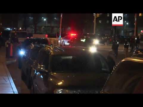 Raw: Drug Lord El Chapo Brought to Manhattan
