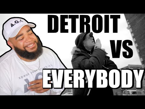 "{{ REACTION }} Eminem, Royce da 5'9"", Big Sean, Danny Brown, Dej Loaf,  Detroit Vs. Everybody"