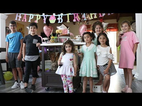 Emma's And Isabella's Birthday Cooking Class - Birthday Cooking Classes - Heghineh Cooking Show