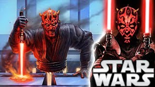 After Darth Maul's 'death' by Obi-Wan Kenobi in The Phantom Menace, what happened to his lightsaber? Did he have it with him? Did he lose it? When did he ...