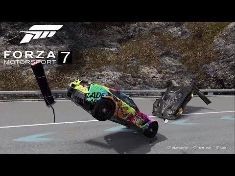 FORZA MOTORSPORT 7 FAILS & FUNNY MOMENTS #1 (FM7 Fails, Crashes  & Glitches Funny Compilation)
