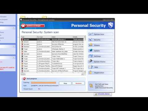 0 Personal Security Analysis and Removal