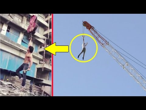 Video Tiger Shroff's Amazing Stunt On Crane For Baaghi 2 download in MP3, 3GP, MP4, WEBM, AVI, FLV January 2017