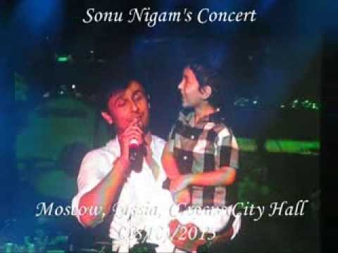 Sonu Nigam's Concert - Moscow, Russia - 10 August 2013 (part 4) (видео)