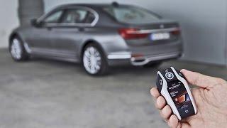 Video BMW 7 Series (2016) Remote Control Parking Demonstration MP3, 3GP, MP4, WEBM, AVI, FLV Agustus 2017