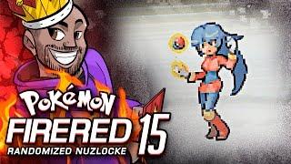 A ONE ON ONE Pokémon Fire Red REALLY Randomized Nuzlocke Ep 15 w/ TheKingNappy! by King Nappy