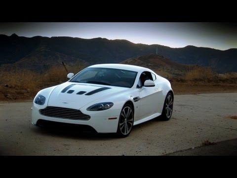 Aston Martin V12 Vantage – Pure Sound Test Drive With Rattle Snake