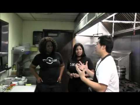 NABI Restaurant Part 1 - Hanging in the Kitchen w Chef Ji