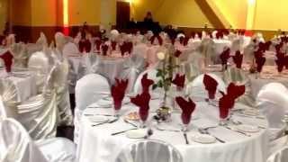 Danny Wedding Decoration Calgary Lebanese Wedding With Real Flowers