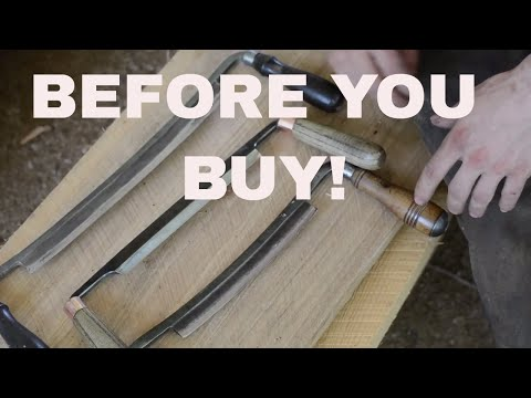 What to look for in a QUALITY drawknife!!