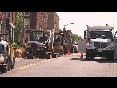 Section of Worthington St. in Springfield closed due to gas leak