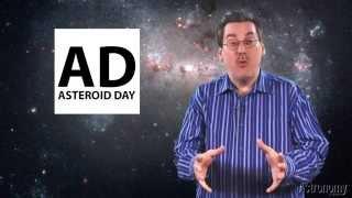 Dave Eicher signs the Asteroid Day 100x Declaration