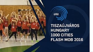 Tiszaujvaros Hungary  City new picture : Tiszaújváros, Hungary - 1000 Cities Flash Mob 2016