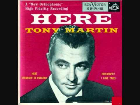 Tekst piosenki Tony Martin - Here po polsku
