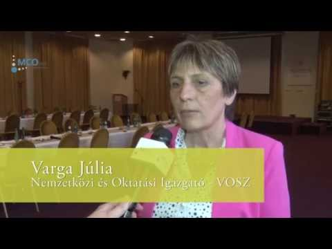 Interjú Varga Júliával a CCPIT látogatása kapcsán