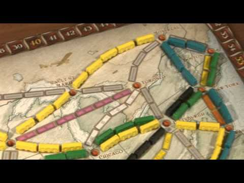 Видео - Билет на поезд Европа (Ticket to Ride: Europe)