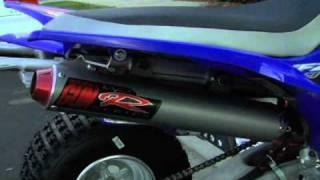 10. 2007 YFZ 450 with Big Gun Evo R Exhaust