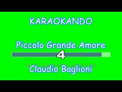 , title : 'Karaoke Italiano - Questo piccolo Grande Amore - Claudio Baglioni ( Testo )'