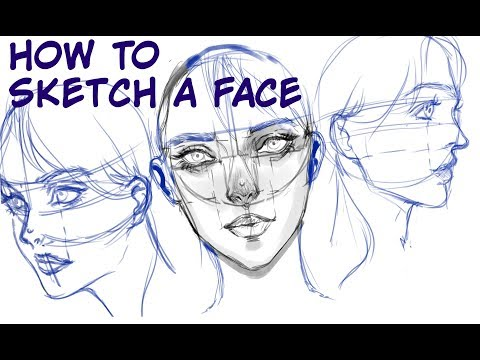 Search result youtube video medibangtutorial medibang how to sketch a face tutorial ccuart Choice Image