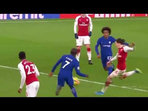 Arsenal vs Chelsea (2-2) All Goals & Highlights  03 01 2018