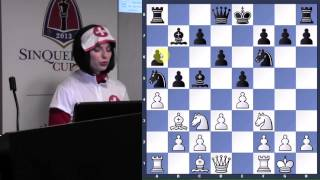Lecture with WGM Jennifer Shahade (Happy Halloween! | Ruy Lopez | Magnus Carlsen) - 2013.10.31